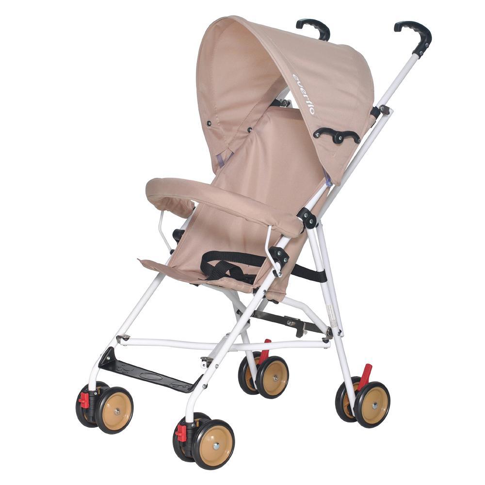 Купить УТ000001430, EVERFLO Коляска трость Simple E-100 Beige [E-100 Simple], Детские коляски