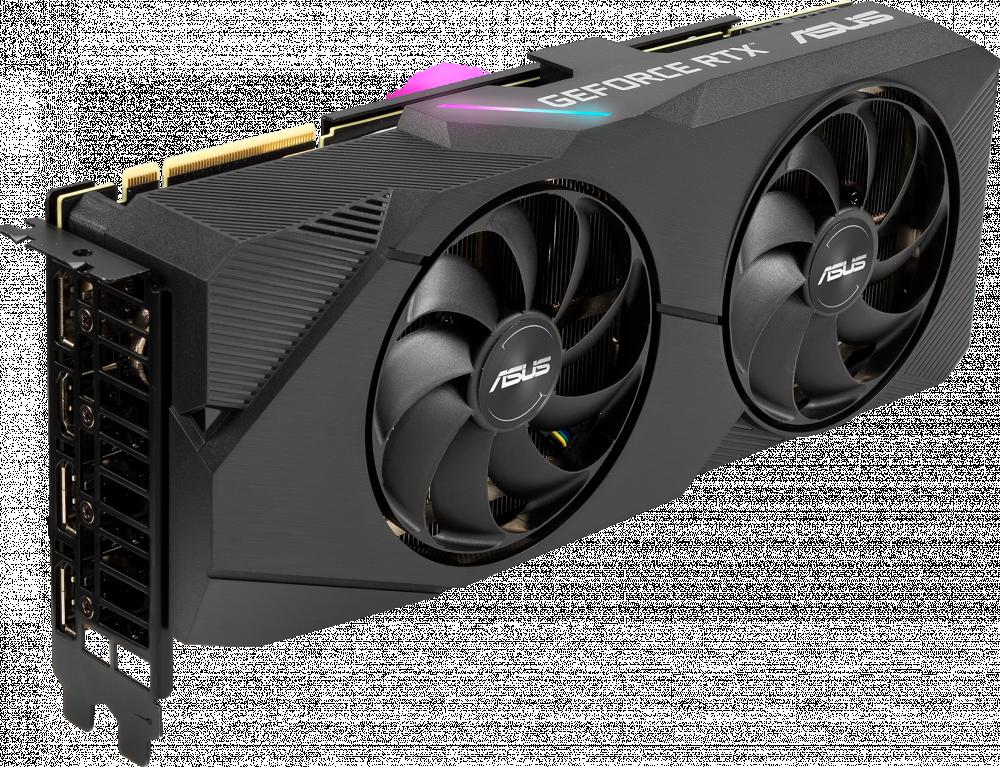 Видеокарта nVidia GeForce RTX2080 Super ASUS PCI-E 8192Mb (DUAL-RTX2080S-O8G-EVO