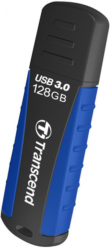 USB Flash накопитель 128Gb Transcend JetFlash 810 Black/Blue (TS128GJF810)