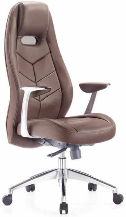 Картинка для Кресло руководителя Бюрократ ZEN/BROWN коричневое