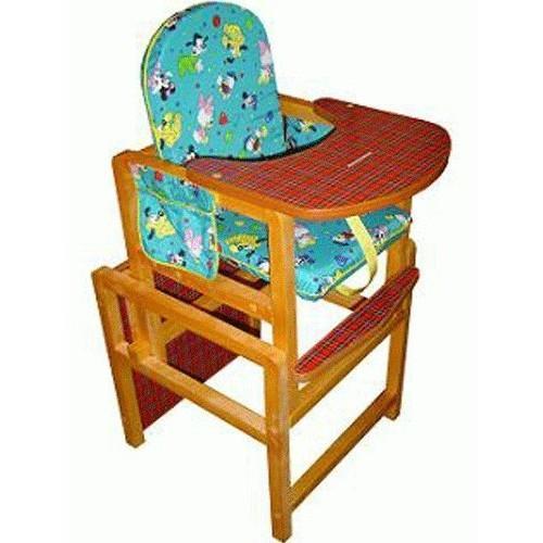 Купить 12357982, ВИЛТ Стул-стол для кормления Ксения синий [СТД0408], Стульчики для кормления малышей