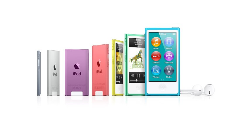 MP3-плеер Apple iPod nano 16GB Generation 7 Pink MD475QB/A