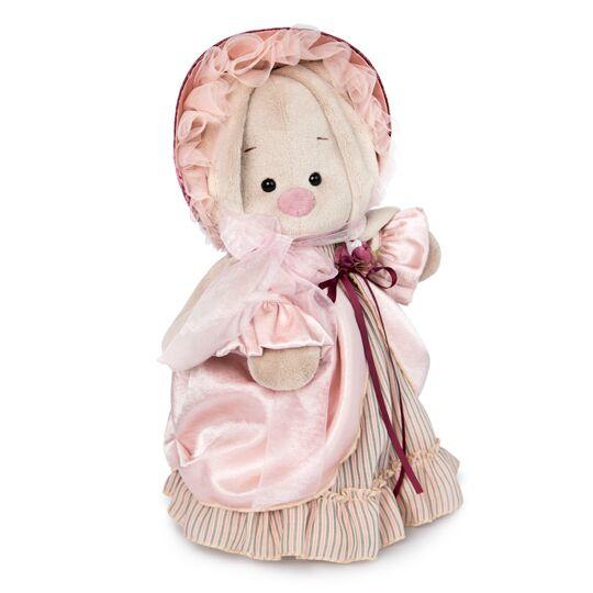 Купить Мягкая игрушка BUDI BASA StS-273 Зайка Ми барышня в жемчужном 25см, Искусственный мех, Мягкие игрушки