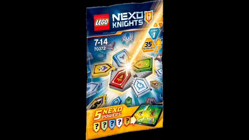 Купить LEGO Конструктор LEGO Nexo Knights. Силы - 1 полугодие [70372], пластик, Конструкторы