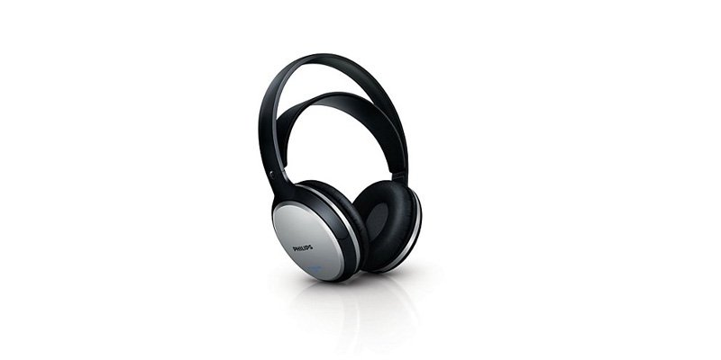 Наушники Philips SHC5100 Black/Silver