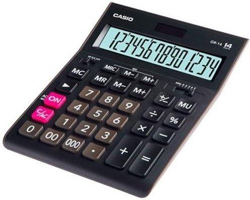 Калькулятор настольный Casio GR-14