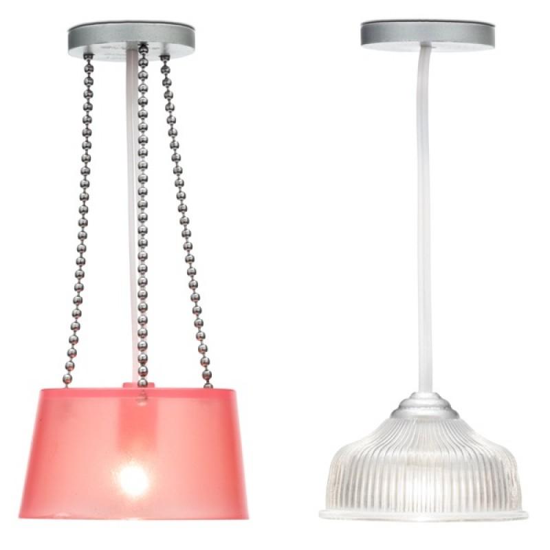 Купить LUNDBY Освещение для домика Две потолочные люстры [LB_60604300], 10 x 5 x 15 см, 95% Пластик, 4% Металл 1% Стекло, Мебель для кукол