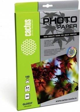 Фотобумага Cactus CS-GA623050 глянцевая 10x15 230 г/м2 50 листов