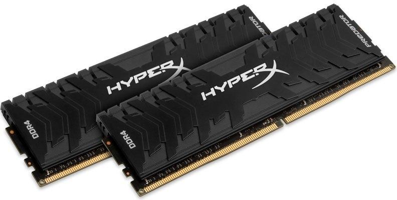Оперативная память 16Gb DDR4 2400MHz Kingston HyperX Predator (HX424C12PB3K2/16) (2x8Gb KIT)