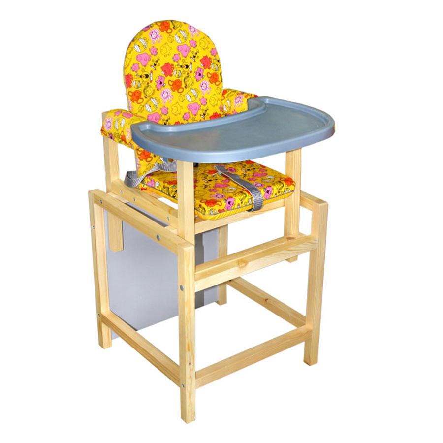 Купить СЕНС-М Стул-стол для кормления СТД 07 пластиковая столешница Желтый [СТД0704], Россия, Стульчики для кормления малышей