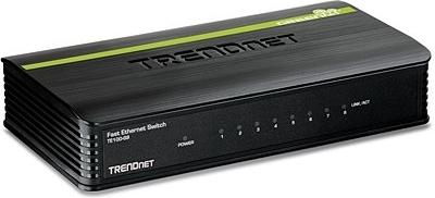Коммутатор TRENDnet Black TE100-S8