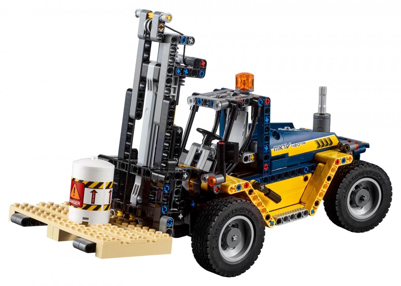 Купить Конструктор LEGO 42079 Technic Сверхмощный вилочный погрузчик, пластик, Для мальчиков и девочек, Дания, Конструкторы