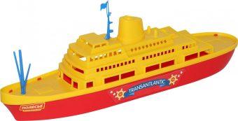 Купить ПОЛЕСЬЕ Корабль Трансатлантик , 46 см [56382], Беларусь, Детские игрушки для ванной