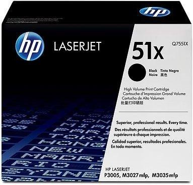 Лазерный картридж HP 51Х Black (Q7551X) фото