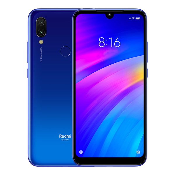 Купить Смартфон Xiaomi Redmi 7 3/32Gb синий, Синий, Китай