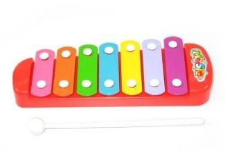 Купить НАША ИГРУШКА Ксилофон 7 тонов [3020], Shantou, Пластик, металл, Детские музыкальные инструменты