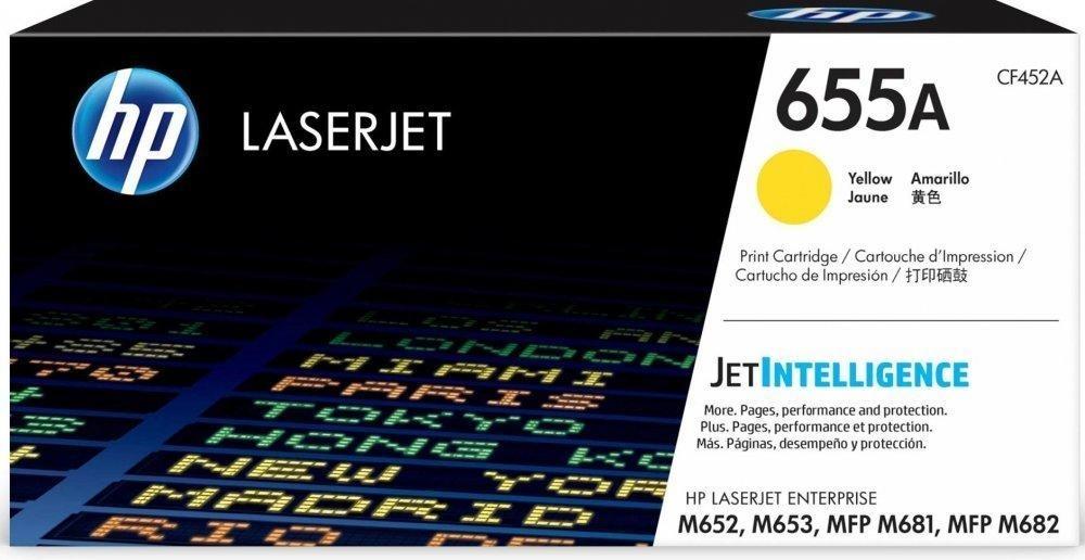 Лазерный картридж HP 655A (CF452A) Yellow 655A Yellow фото