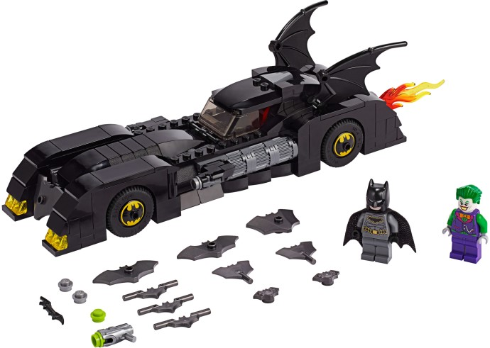 Купить [76119] Конструктор Lego Бэтмобиль: Погоня за Джокером (342 детали), Конструкторы