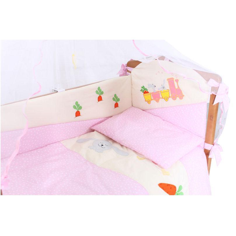 Купить 12356366, Комплект «Влюбленные» 7 предметов, [7055], Постельное белье для малышей