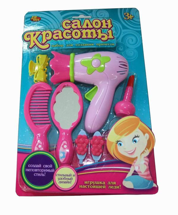 Купить SHANTOU Набор для создания причесок Салон красоты [PT-00187], пластик, Для девочек, Играем в салон красоты