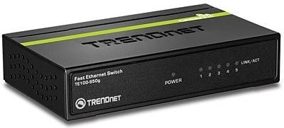 Коммутатор TRENDnet Black TE100-S50G