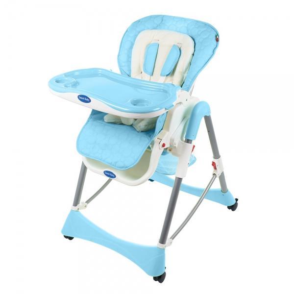 Купить УТ000000893, SWEET BABY Стульчик для кормления Royal Classic Blu [Royal Classic Blu], Стульчики для кормления малышей