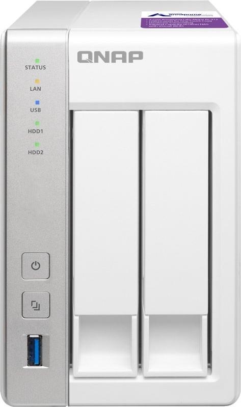 Сетевое хранилище (NAS) QNAP TS-231P2-4G
