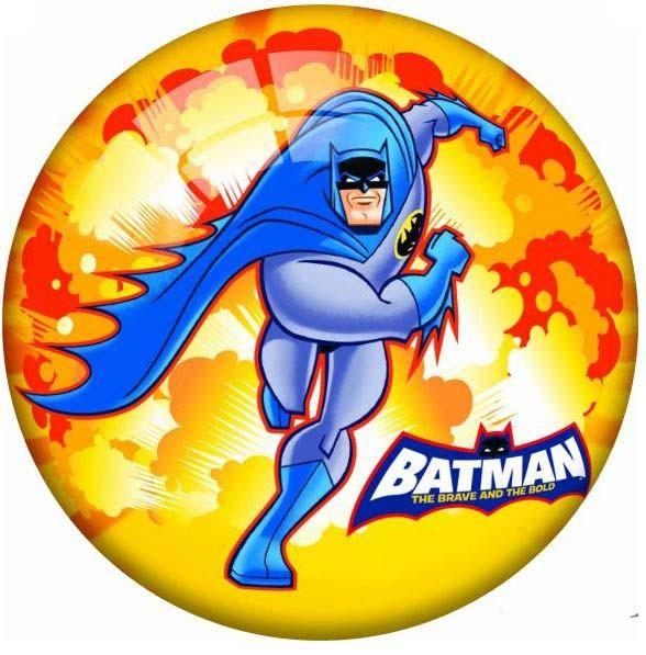 Купить DEMA-STIL Мяч Бэтмэн 23 см [WB-B-001], ПВХ, Детские мячи и прыгуны