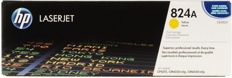 Лазерный картридж HP 824A Yellow (CB382A) фото