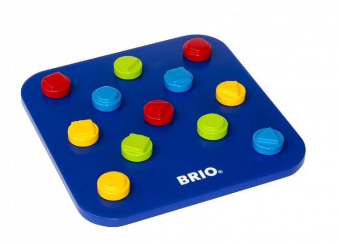 Купить BRIO Пазл в виде шестерёнок Brio , 10 деталей [30188], синий, Дерево, Игрушки для развития мелкой моторики