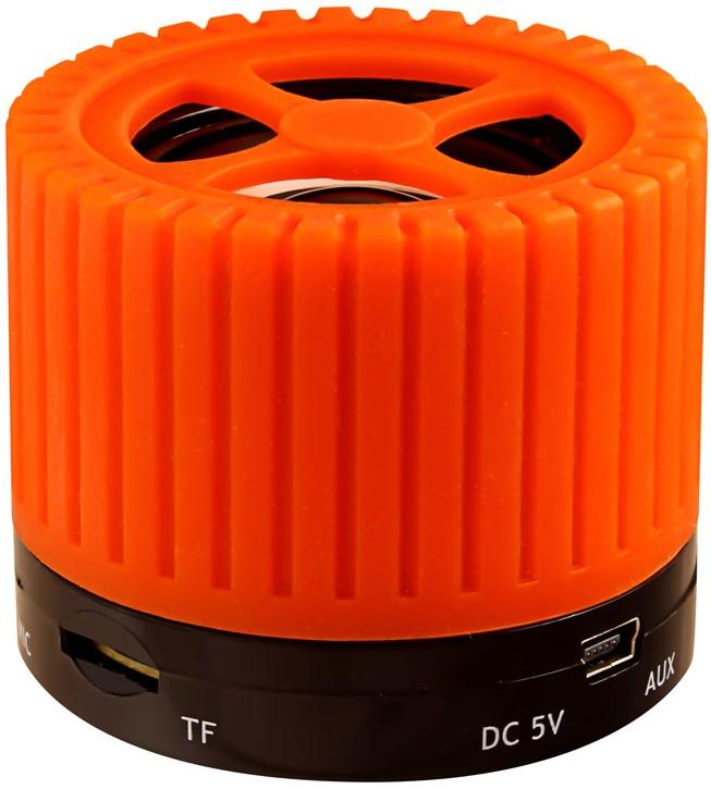 Портативная колонка Ginzzu GM-988O оранжевый