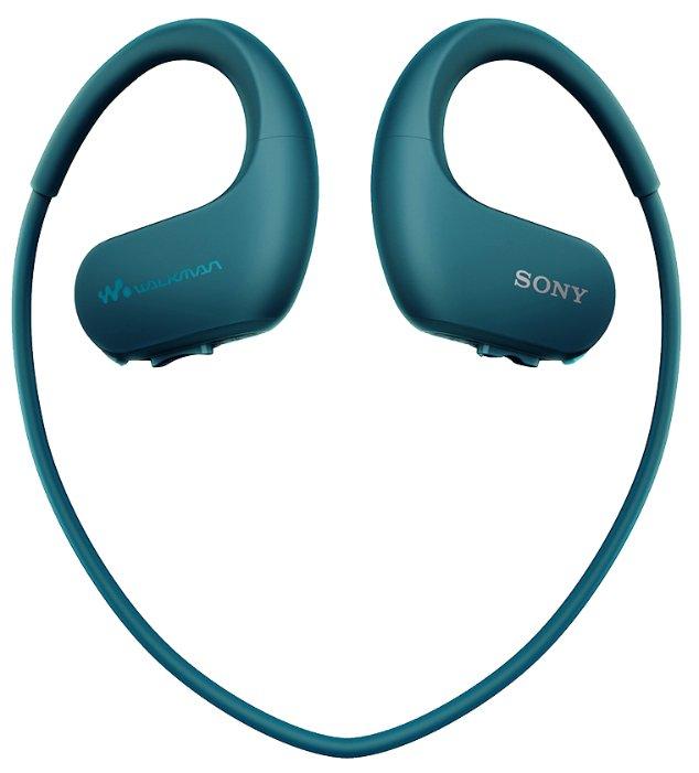 Портативный плеер Sony NW-WS413 4Gb Blue