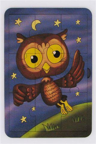 Купить Пазл деревянный Сова , 9 деталей (20х14 см) [6310161], S+s toys, Дерево, Пазлы