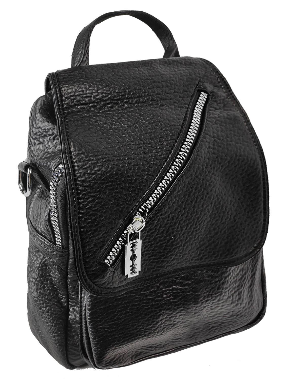 Рюкзак женский стильный D-Zain (669) черный фото