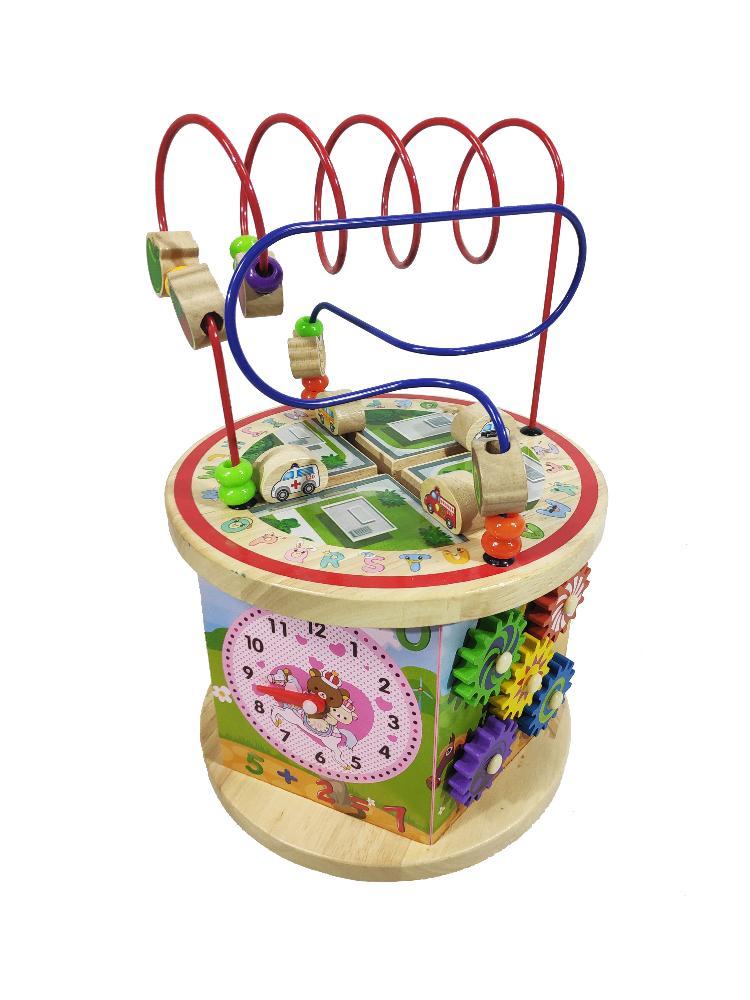 Купить Бизиборд Brightkid Чудо-мельница (1902-MZ-700), Пластик, дерево, металл, Для мальчиков и девочек, Игрушки для развития мелкой моторики
