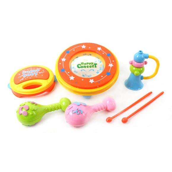 Купить НАША ИГРУШКА Набор музыкальных инструментов, 7 предметов [95588-7], пластмасса, Детские музыкальные инструменты
