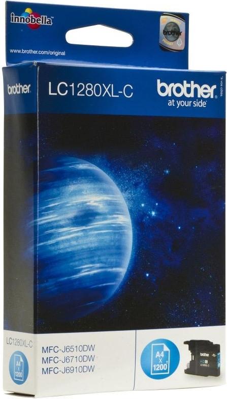Купить Струйный картридж Brother LC1280XLC Cyan, Сyan (Голубой), Китай