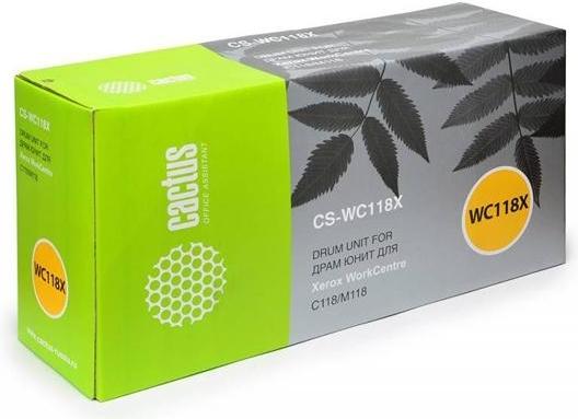 Тонер-картридж Cactus CS-WC118X Black фото