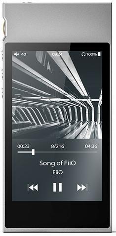 Плеер Fiio M7 серебристый
