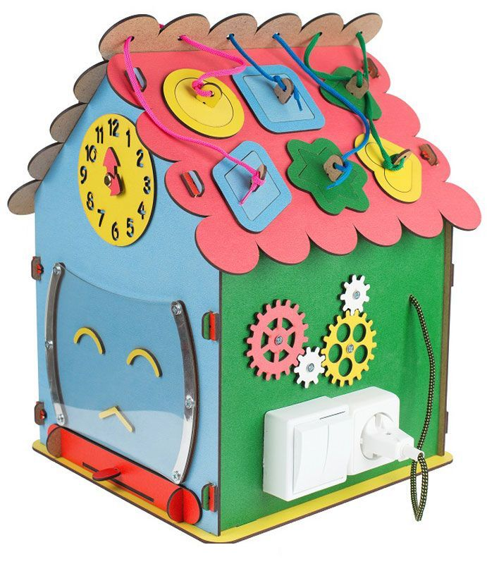 Купить БОЛЬШОЙ СЛОН Развивающая игрушка Бизи-дом [27], дерево, пластик, металл, текстиль, Развивающие игрушки для малышей