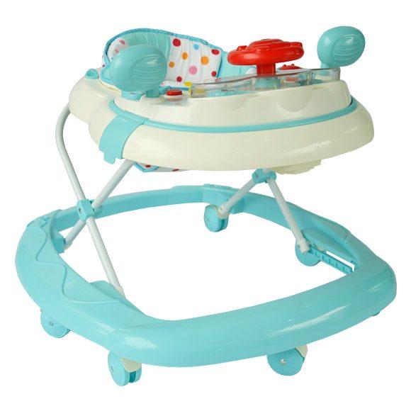 Купить Ходунки Первые виражи [859-BLUE], Наша игрушка, Голубой, пластик, Ходунки и прыгунки для малышей