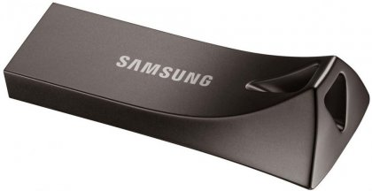 Флешка 128 Гб Samsung BAR Plus (MUF-128BE4/APC) USB 3.1 Type A, черная