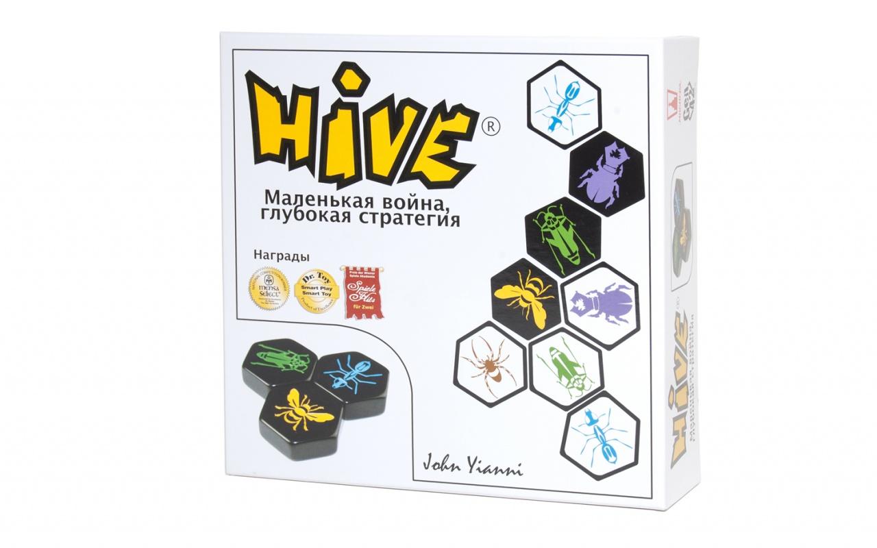 Купить Настольная игра MAGELLAN 52239 Hive (Улей), Картон, бумага, пластик, ткань, Для мальчиков и девочек, Китай, Настольные игры
