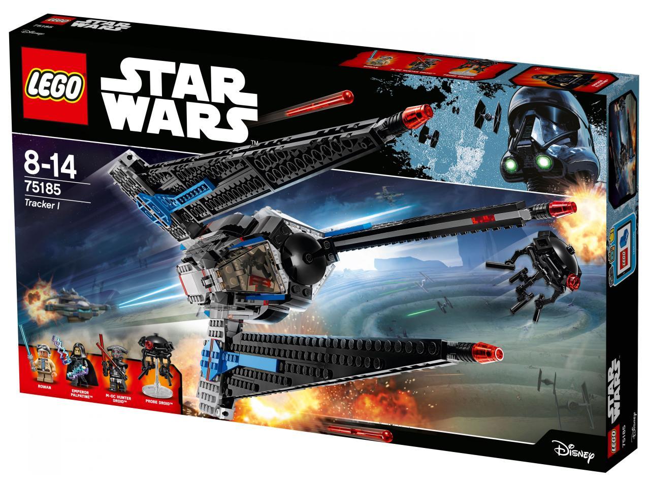 Купить Конструктор LEGO 75185 Star Wars Исследователь I, пластик, Для мальчиков и девочек, Дания, Конструкторы