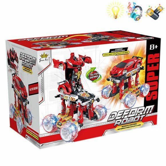Купить НАША ИГРУШКА Трансформер на радиоуправлении Робот-машина , [200091276], пластмасса, Игрушечные роботы и трансформеры