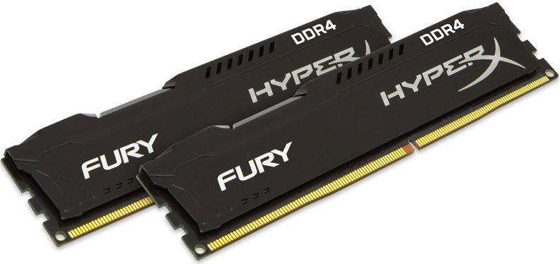 Оперативная память 32Gb DDR4 2666MHz Kingston HyperX Fury (HX426C16FBK2/32) (2x16Gb KIT)
