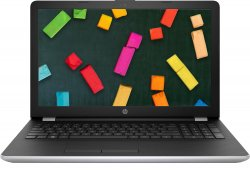 Ноутбук HP 15-bs599ur (2PW00EA) серебристый