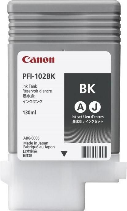 Струйный картридж Canon PFI-102BK Black (0895B001) фото