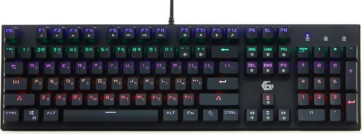 Купить Клавиатура Gembird KB-G550L Black, Черный, Китай