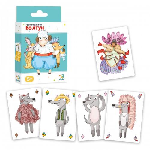 Купить DODO Карточная игра DoDo Болтун [R300100], Картон, Украина, Настольные игры